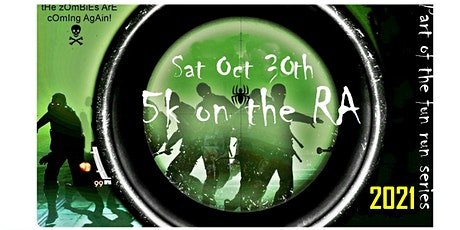 Halloween Zombie Fun Run '5K on the RA' (Few Tickets Left) tickets