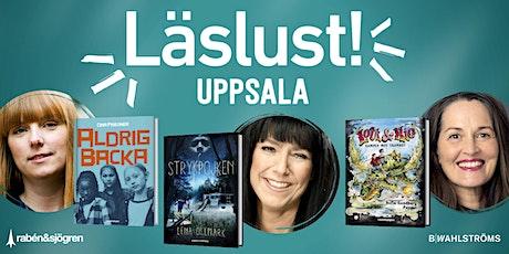 Läslust Uppsala 11 november tickets