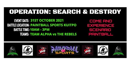 OPERATION: SEARCH & DESTROY tickets