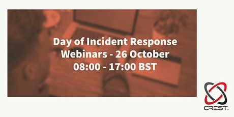 A day of Incident Response Webinars tickets
