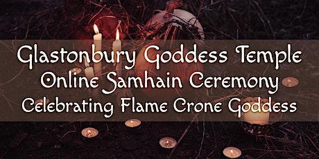 Goddess Temple Samhain Ceremony (Online): Flame Crone Nolava tickets