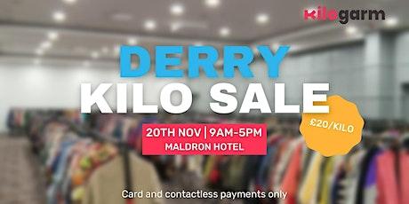 Derry Kilo Sale Pop Up - Cashless tickets