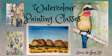 Adult Evening Watercolour Painting Class tickets