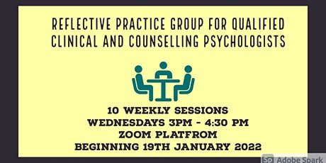 Reflective Practice Group for  Clinical and Counselling Psychologists tickets