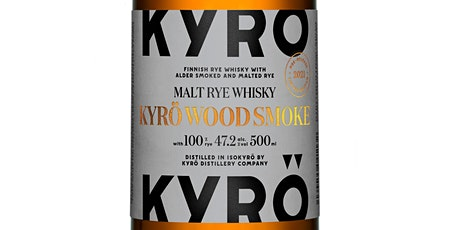 Wood Smoke: Virtuelles Whisky Tasting mit Kyrö Head Distiller Kalle tickets