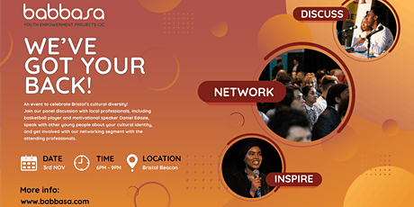 'We've Got Your Back' Networking Event 2021 tickets