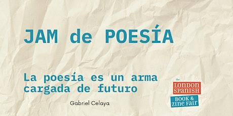 Poetry Jam: La poesía es un arma cargada de futuro tickets