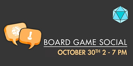 October Board Game Social tickets