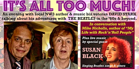 It's All Too Much! David Stark's book event with special guest Susan Black. tickets