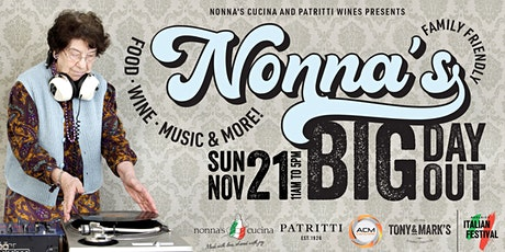 Nonna's Big Day Out at Patritti tickets