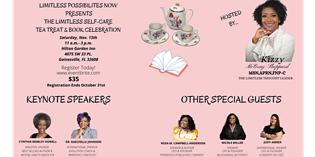 Limitless Self-Care Tea Treat and Book Celebration tickets