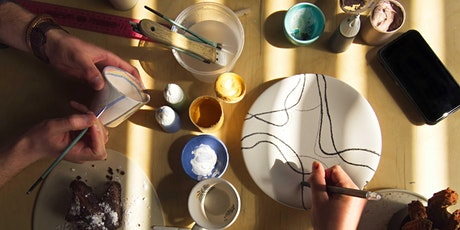 Happy Mondays: Self-Care workshop with pottery painting & poetry tickets