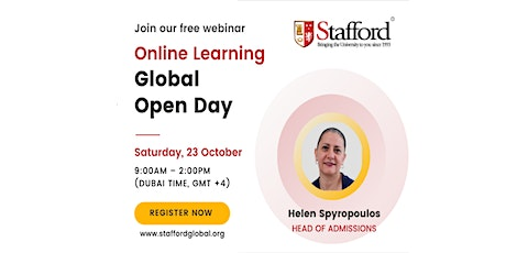 Online Learning Global Open Day for UAE tickets