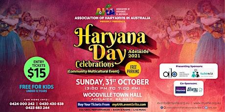 Haryana Day Celebrations-2021 |  Australia tickets