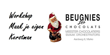 "Chocolade Workshop ""Maak je eigen Kerstman"" tickets"