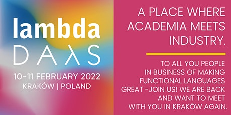 Lambda Days 2021 - in person tickets
