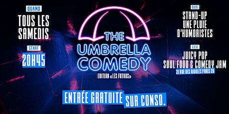 Umbrella Comedy Paris 20 billets