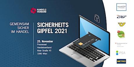 SICHERHEITSGIPFEL 2021 tickets