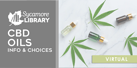 CBD Oil: Info and Choices tickets
