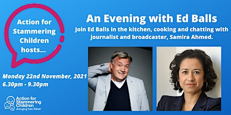 An Evening with Ed Balls tickets