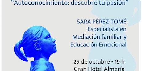 SESIÓN INAUGURAL LEADER CODE I ALMEDINA  AUTOCONOCIMIENTO  SARA PEREZ TOME entradas