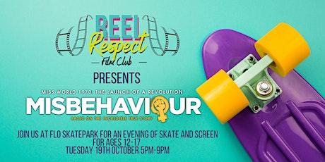 Reel Respect Film Club Launch @ Flo Skatepark Nottingham tickets