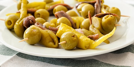 Classic Spanish Wine and Tapas - Online Cooking Class by Cozymeal™ tickets
