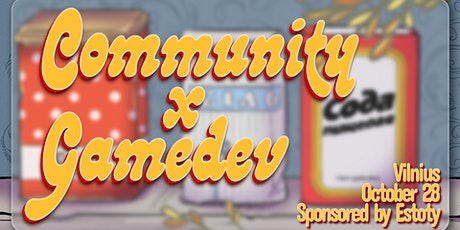 Community x Gamedev tickets