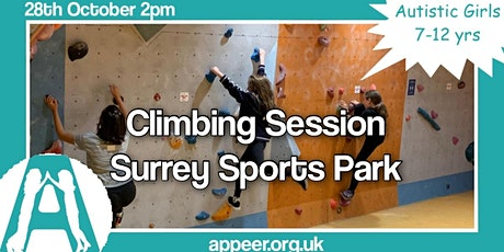 Appeer Girls Climbing Wall experience at Surrey Sports Park ( 7-12) tickets