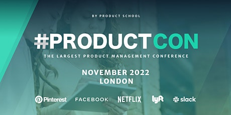 #ProductCon London: The Product Management Conference tickets