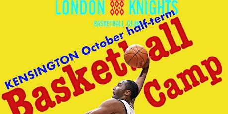 October half-term, U12 Basketball Camp tickets