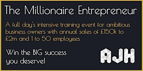 The Millionaire Entrepreneur tickets
