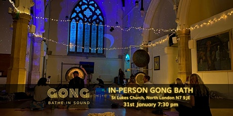 75 minute Gong Bath - North London tickets