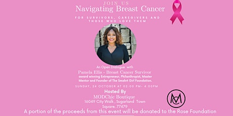 Navigating Breast Cancer for Survivors, Caregivers  and  Loved ones. tickets