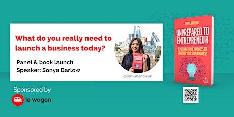 Panel & Book Launch: Unprepared to Entrepreneur tickets