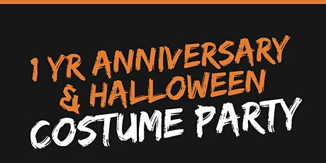 1 Year Anniversary and Halloween Costume Party tickets