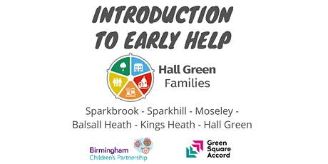 Your Early Help  Training - Hall Green Families tickets
