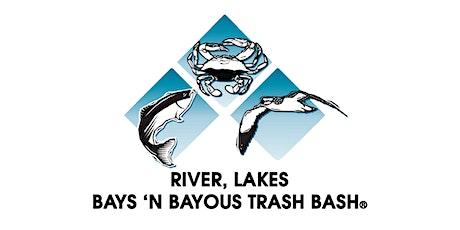 The 28th River ,Lakes, Bays 'N Bayous Trash Bash - Armond Bayou tickets
