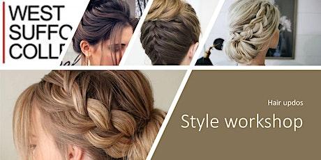 Style workshop - Hair updos tickets