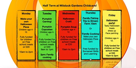 Half Term Activities - Healthy Cooking for the whole family tickets