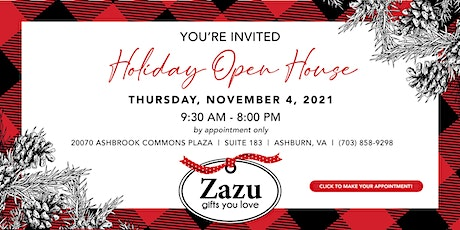 Holiday Open House 2021 tickets