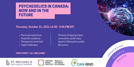 Psychedelics in Canada: Now and in the Future tickets