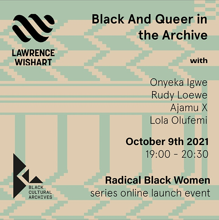 Black and Queer in the Archive image