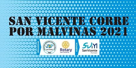 SAN VICENTE CORRE X MALVINAS 10K y  5K entradas