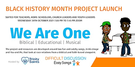 Black History Month: We Are One Launch and Introduction Session tickets