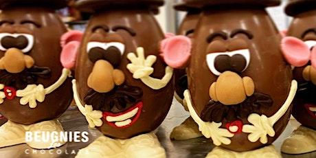 Chocolate Workshop Mr Potatohead billets