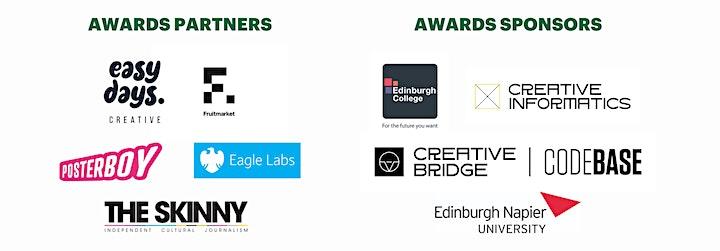 The Creative Edinburgh Awards 2021 & 10th Birthday Bash image