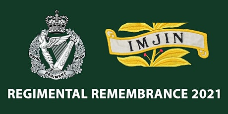 The Royal Irish Regiment Service of Remembrance 2021 tickets