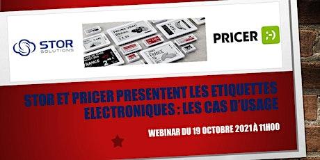 STOR  SOLUTIONS et PRICER présentent les étiquettes électroniques billets