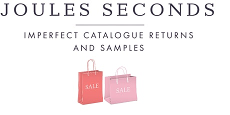 Joules Sale at Castle Donington Fire Station tickets